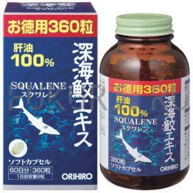 Сквален Orihiro - Масло печени глубоководной акулы (60 дней)