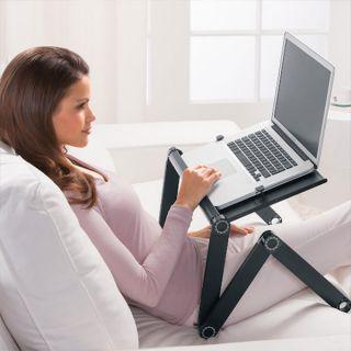 Столик трансформер для ноутбука с охлаждением Laptop Table T9