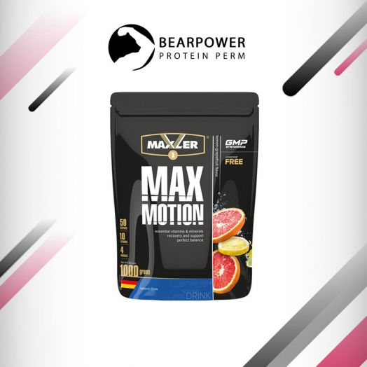 Maxler Max Motion 1000 g (bag) (Lemon Grapefruit(Лимон/Грейпфрут))
