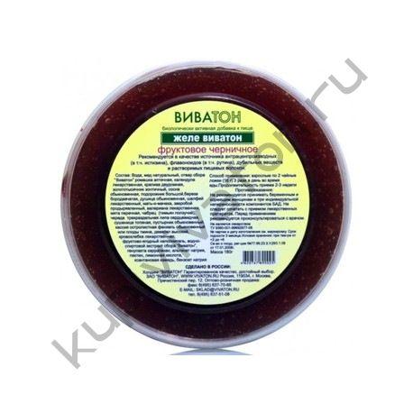 Желе ВИВАТОН фруктовое (черника/клюква) 200мл
