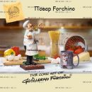 "Фигурка шеф повар 84000 ""The Cook. Forchino"""