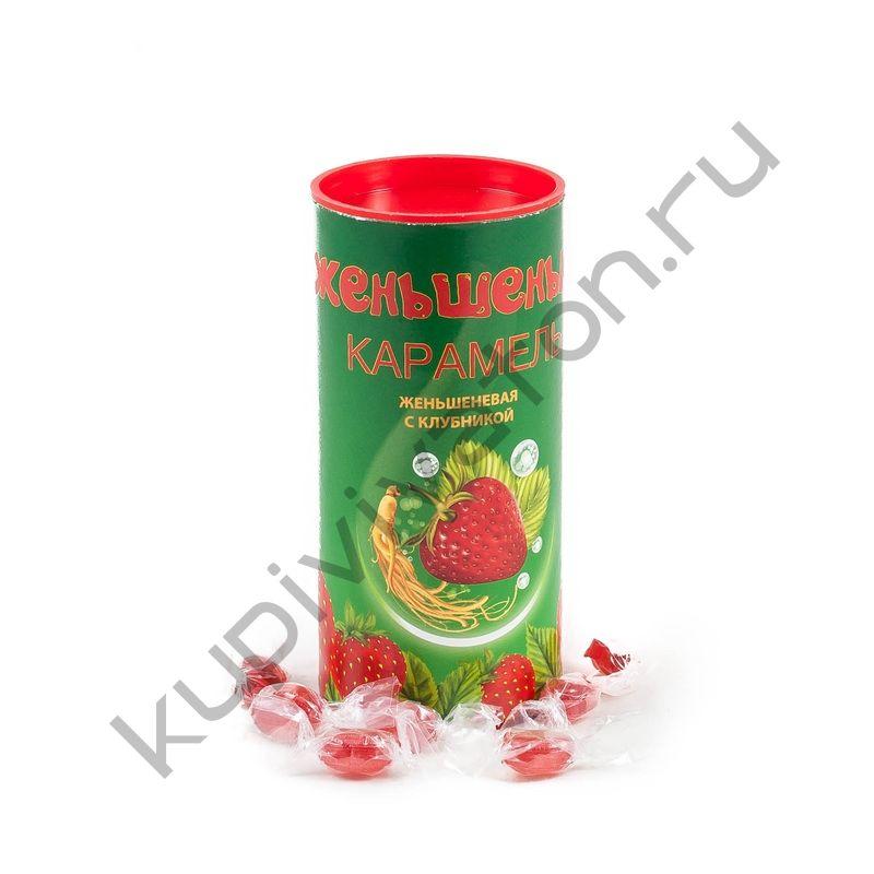 """Карамель """"Женьшенька"""" с ароматом Клубники"""