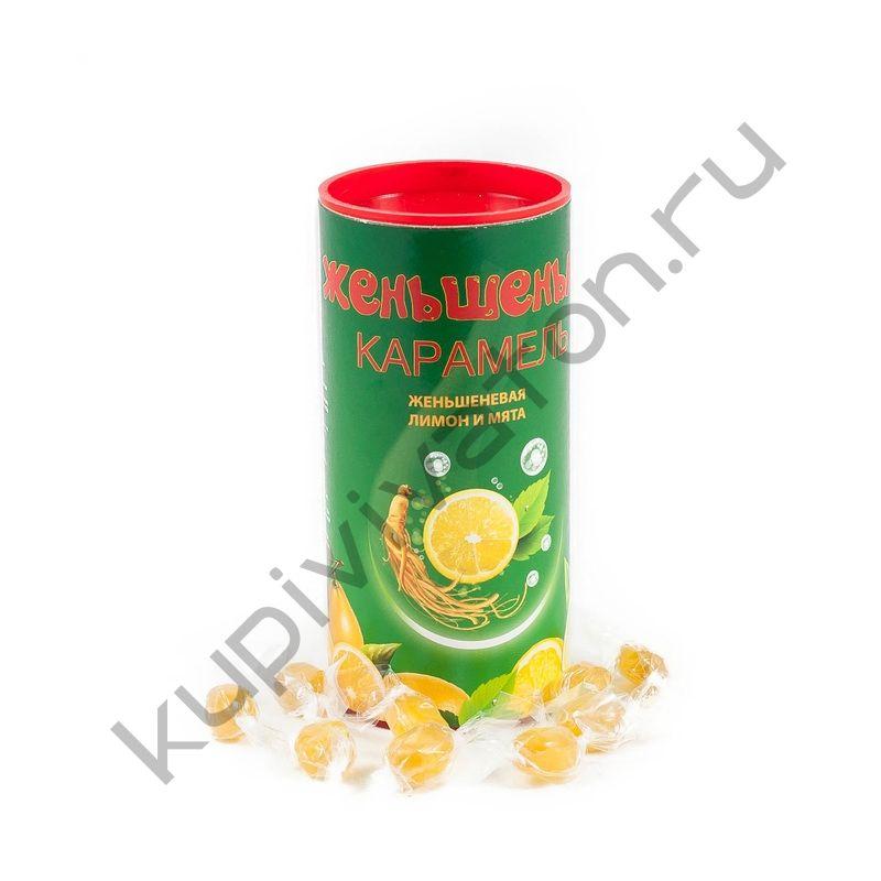 """Карамель """"Женьшенька"""" с ароматом Лимона и Мяты"""