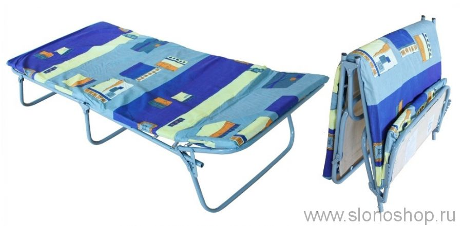 Раскладушка кровать раскладная Стандарт-КМ50 детская мягкая