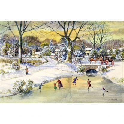 Хейден, А. - Катание в рождество