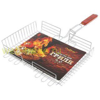Решётка-гриль для мяса Lux, глубокая