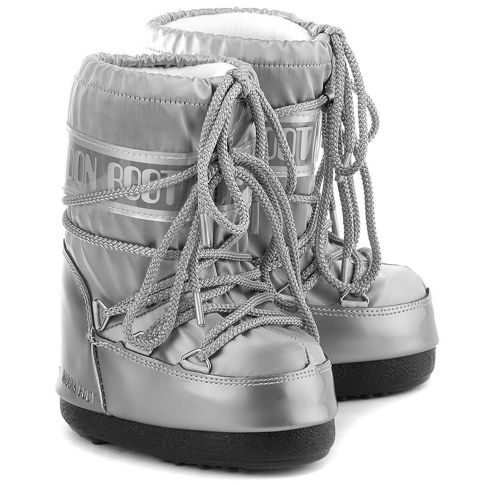 Moon Boot Glance Silver / 23-26, 27-30, 31-34.