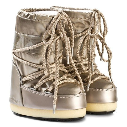 Moon Boot Glance Platinum / 23-26, 27-30.