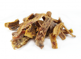 Сушеные чипсы из говяжьего вымени