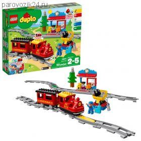 Конструктор LEGO Duplo Town - Поезд на паровой тяге