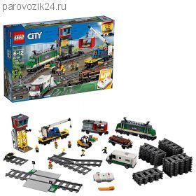 """Конструктор на р/у LEGO City """"Товарный поезд"""""""