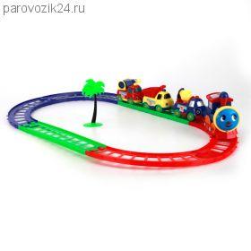 """Железная дорога """"Паровозик из Ромашково"""""""