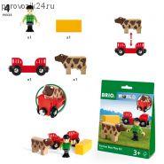 """Игровой набор """"Мальчик на ферме"""", 4 элемента"""