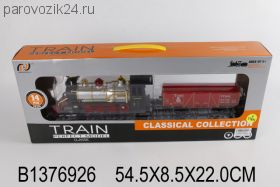 Поезд эл, св/зв 4,5*8,5*22 см