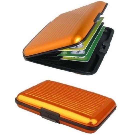 Бокс для кредитных карт Security Credit Card Wallet, оранжевый