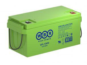 Аккумулятор WBR GPL12650
