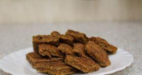Шоколад для собаки из говяжьей печени