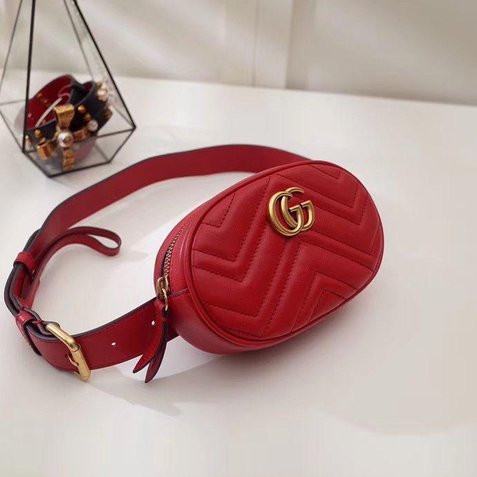 Поясная сумка Gucci Marmont GG