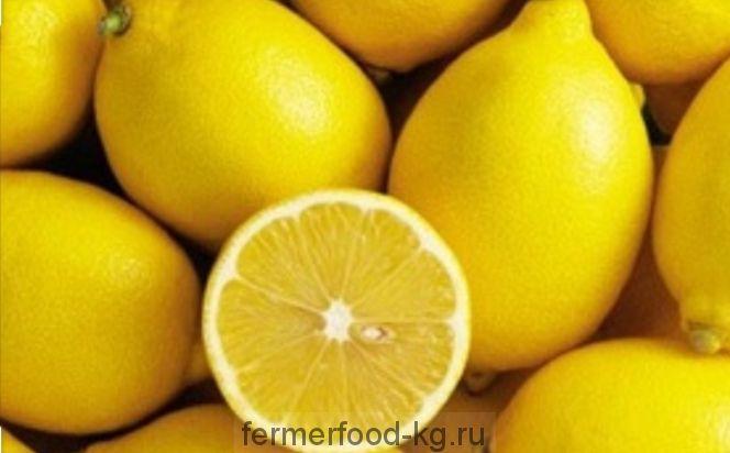 Лимон  весовой 1/кг