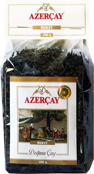 Азерчай черный байховый крупнолистовой 100г