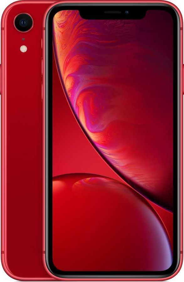 Смартфон APPLE iPhone XR 64Gb, красный