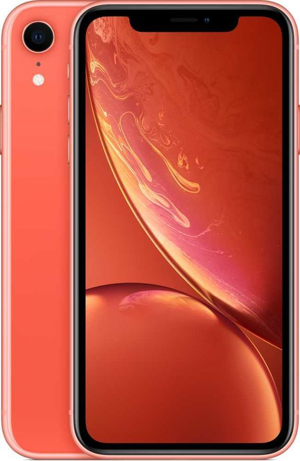 Смартфон APPLE iPhone XR 128Gb, корраловый