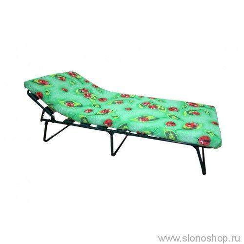 """Кровать раскладушка детская на ламелиях """"Юнга"""""""