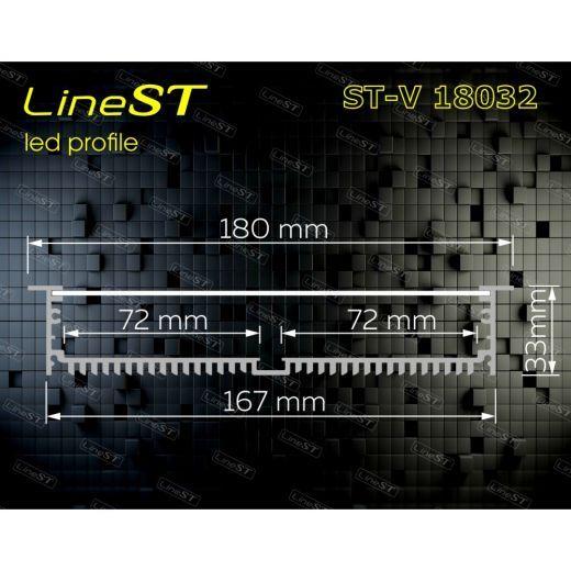 Встраиваемый профиль ST-V18032