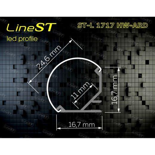 Профиль угловой ST-L1717 HW-ARD