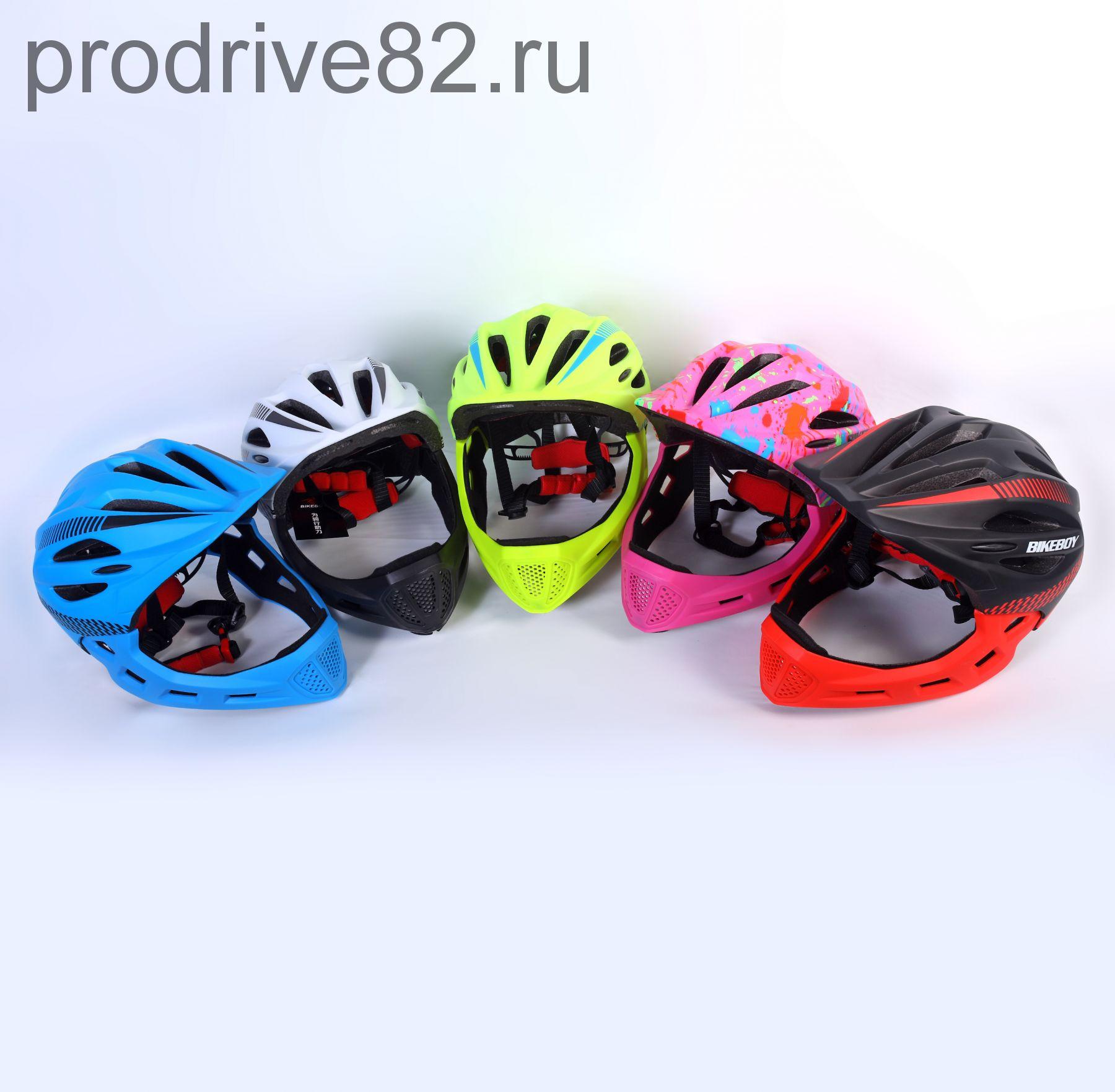 Шлем кроссовый BIKEBOY