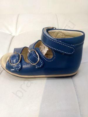 725 Ortopedia Сандалии Первые шаги (18-20) в синем цвете