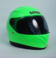 Шлем интегральный салатовый вид 1