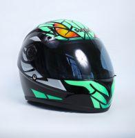 Шлем интегральный рисунок Монстр вид 1