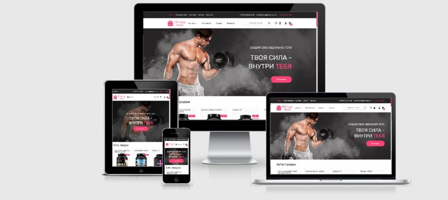 Fitnes website