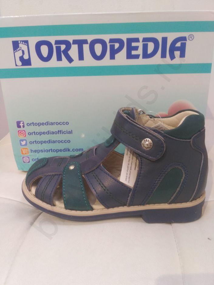 677 Ortopedia Сандалии (21-25) в зеленом цвете