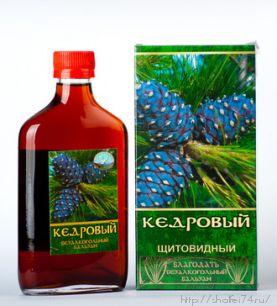 """Безалкогольный травяной бальзам """" Щитовидный"""""""