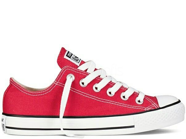 Converse All Star Low Red