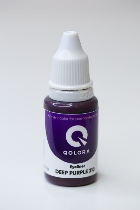 Пигменты QOLORA Eyeliner Deep Purple 310