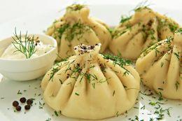 Хинкали с сыром