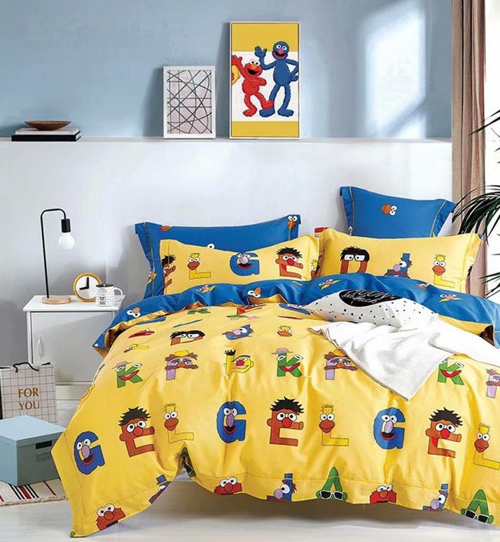Детское постельное белье Веселый алфавит