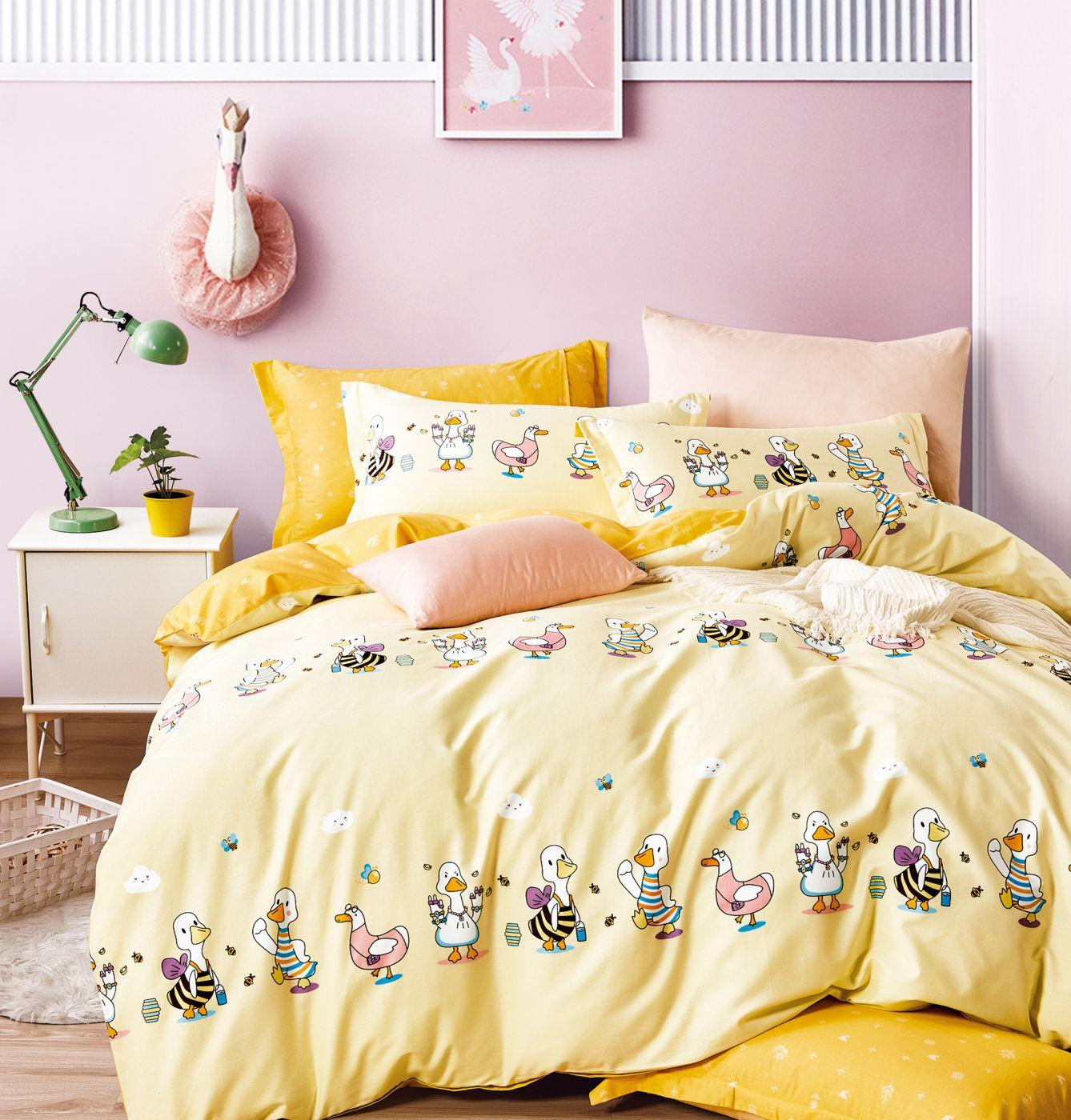 Детское постельное белье Веселые утята