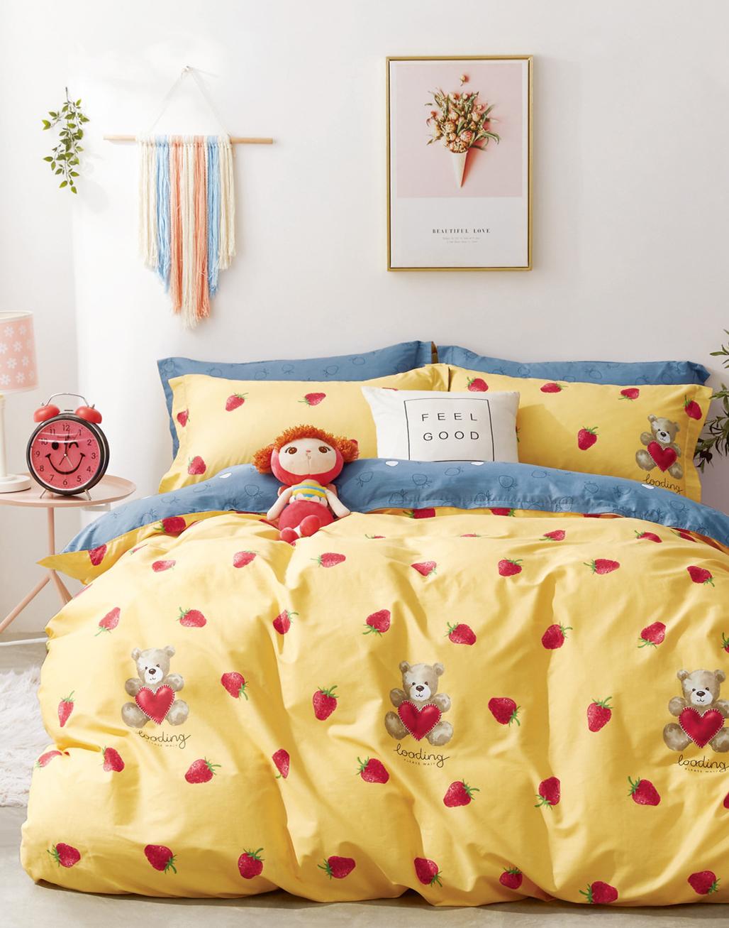 Детское постельное белье Клубничка