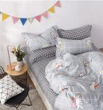 Детское постельное белье Котики в клетку
