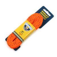 Шнурки хоккейные Howies с пропиткой оранжевые