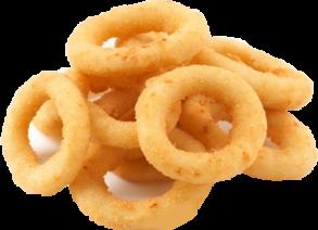 Луковые кольца.
