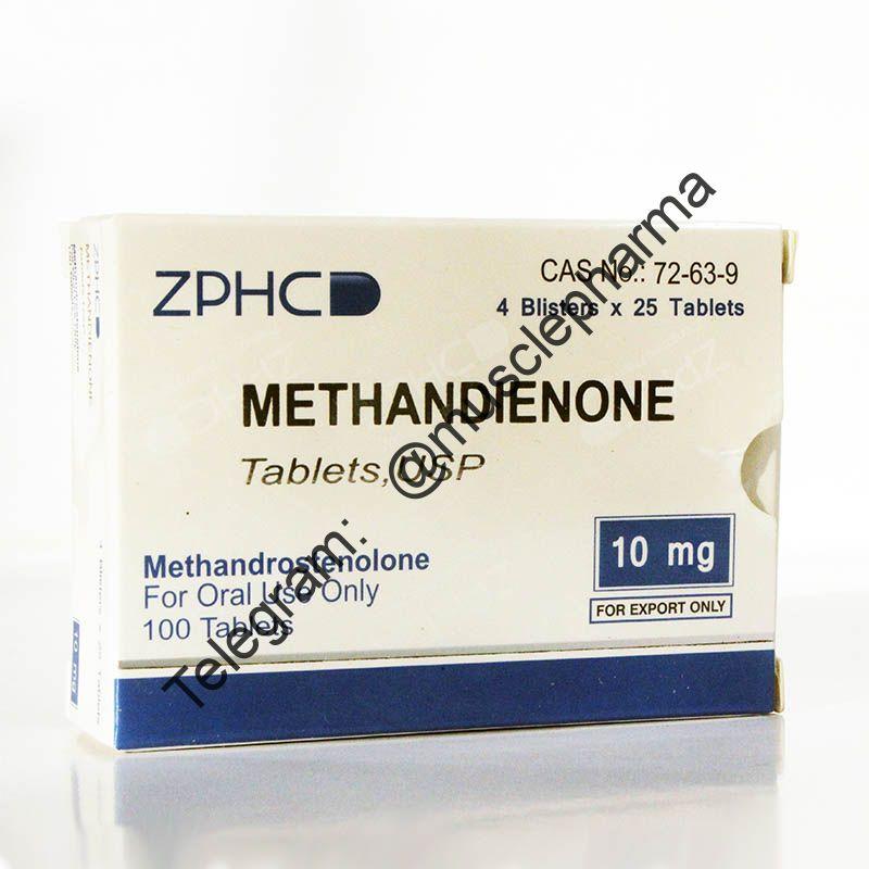 METHANDIENONE (МЕТАНДИЕНОН). ZPHC. 100 таб. по 10 мг.