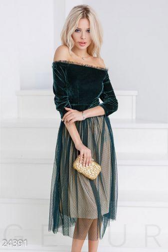 Пышное ретро-платье 24391
