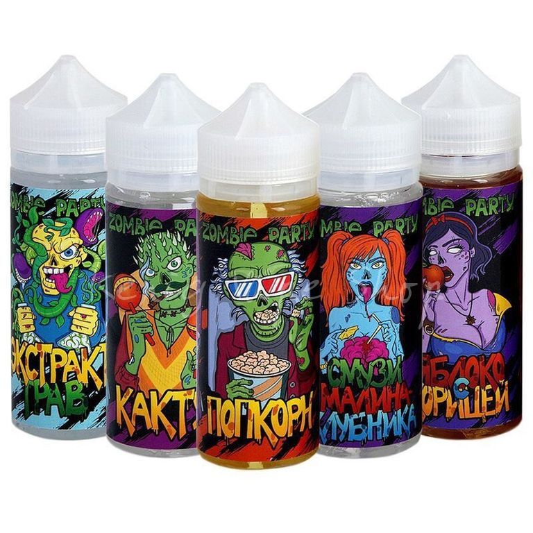 Zombie Party 120ml 3мг