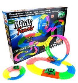 Конструктор детский magic tracks 366 деталей