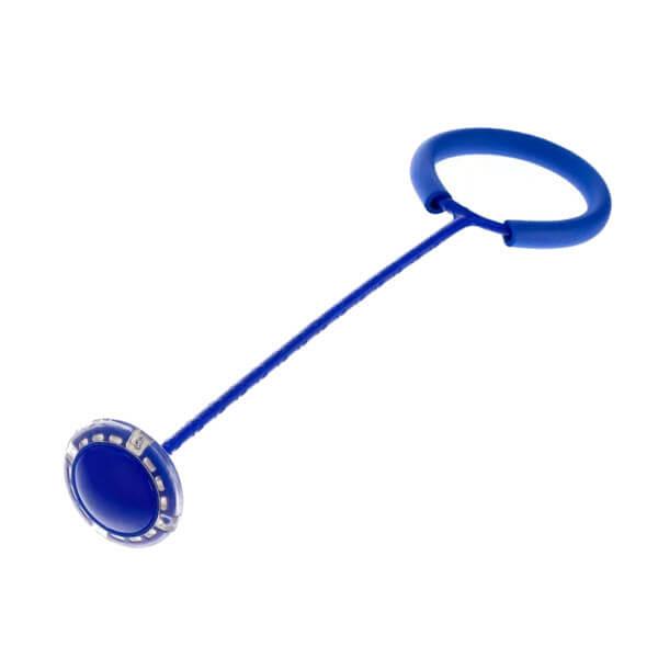 Нейроскакалка на одну ногу со светящимся Led роликом (Цвет: Синий)